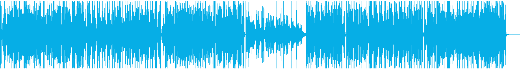 STEM -ドラム抜きの再生済みの波形