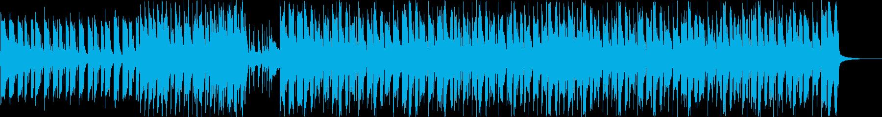 エンディング・かわいい・楽しい B+Dの再生済みの波形