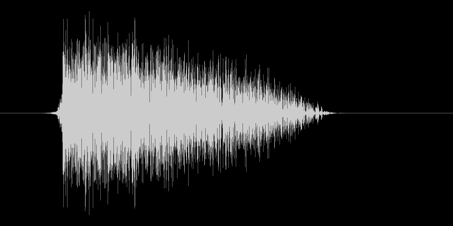 ゲーム(ファミコン風)爆発音_040の未再生の波形