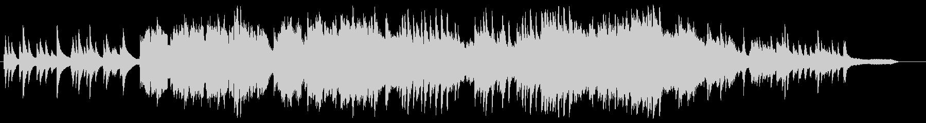アコーディオンの響きが切ないインスト曲の未再生の波形
