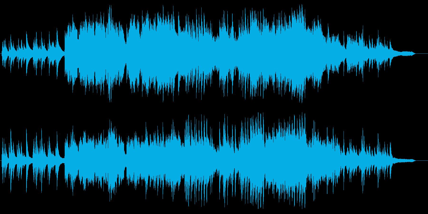 アコーディオンの響きが切ないインスト曲の再生済みの波形