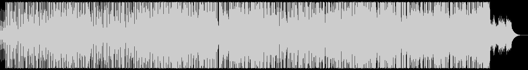 ほのぼの明るいエレクトロポップの未再生の波形