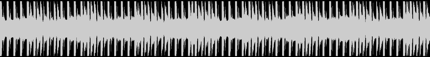 運動・フィットネス/30秒ループ曲2の未再生の波形