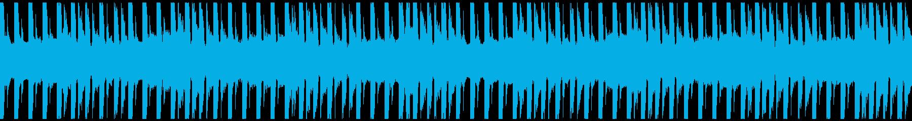 運動・フィットネス/30秒ループ曲2の再生済みの波形