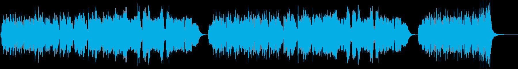 ミュージカル風、哀しげなハロウィンBGMの再生済みの波形