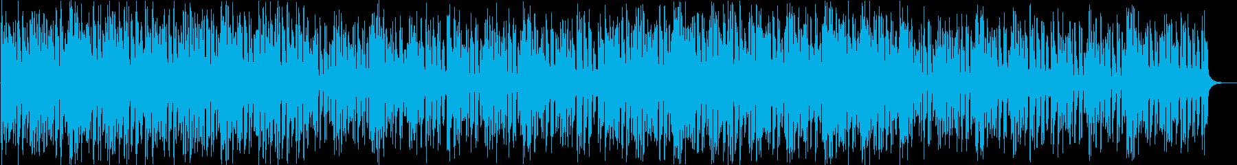 近未来的フューチャーベースエンディングの再生済みの波形