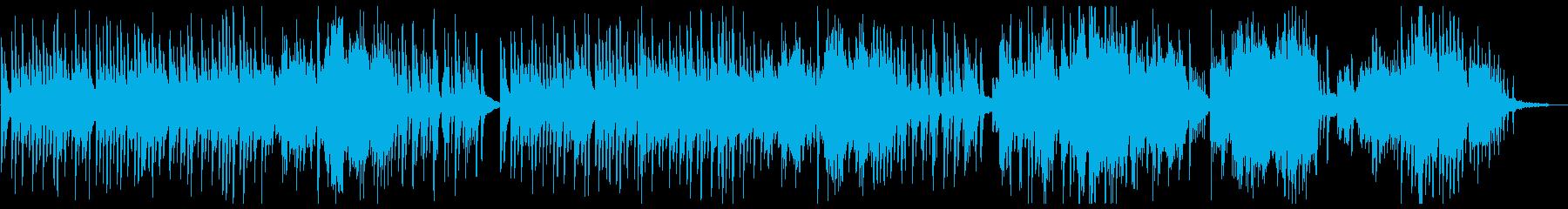 ゆったり美しいピアノソロの再生済みの波形