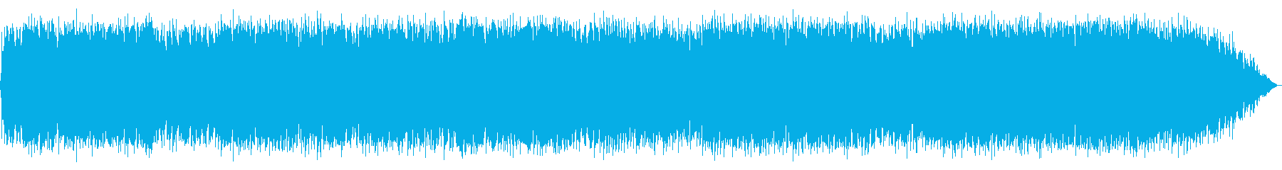 妖しい雰囲気の笛の音楽の再生済みの波形
