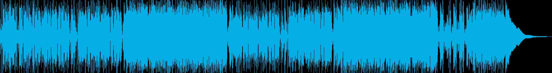❶GtPf生演奏♫フレンチなボサノバの再生済みの波形