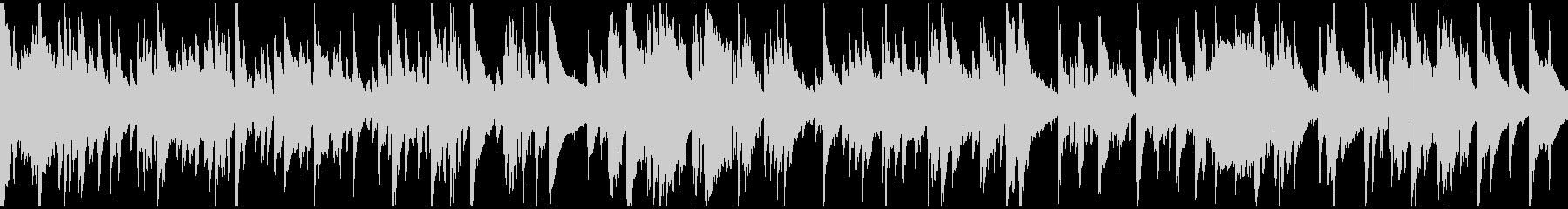 サックス、ギャグのお色気シーン※ループ版の未再生の波形