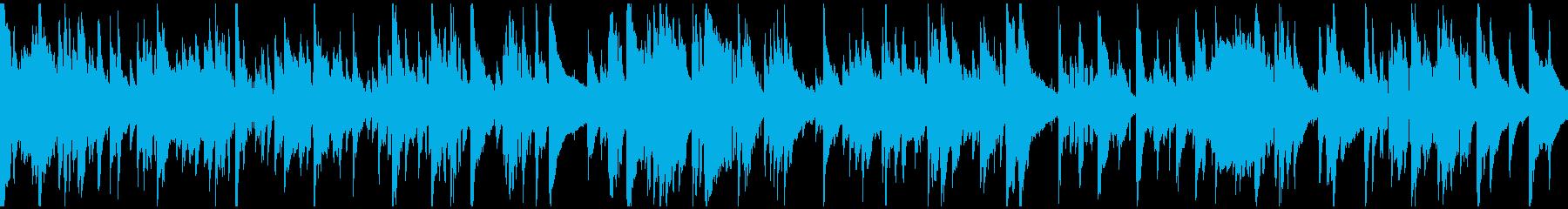 サックス、ギャグのお色気シーン※ループ版の再生済みの波形