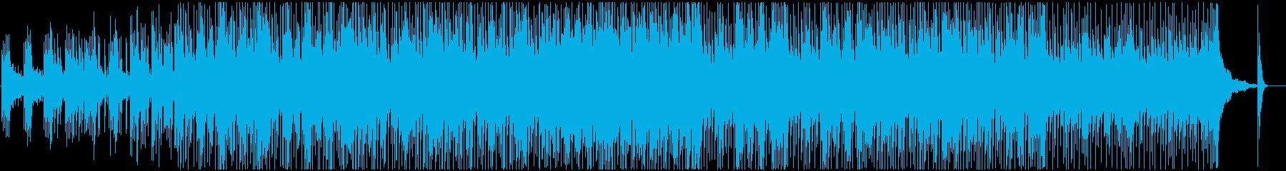 爽やかで優しく前向きなピアノのポップスの再生済みの波形
