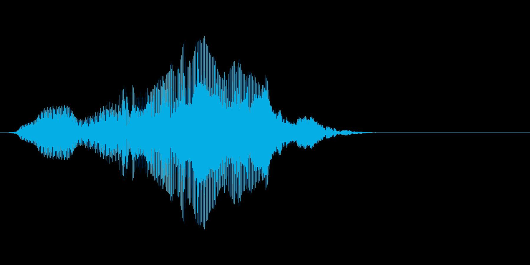 「イエイ!」3の再生済みの波形