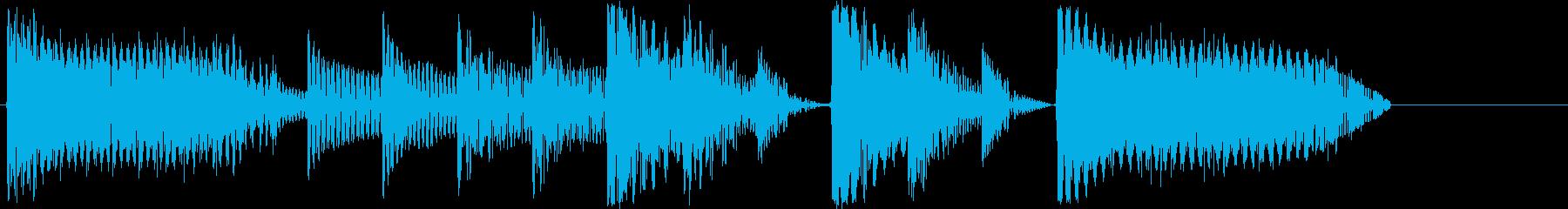8bitジングル#1スタート&クリアの再生済みの波形