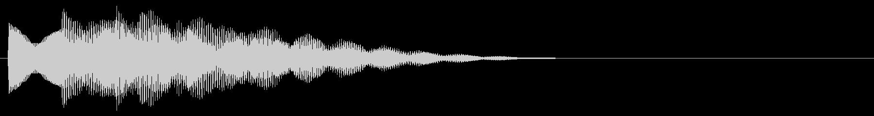 マレット系 決定音11(長三和音)の未再生の波形