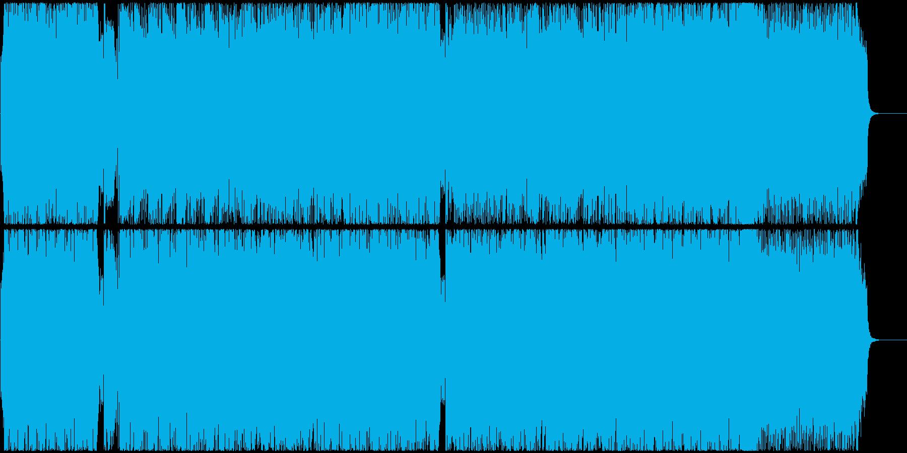 疾走感を意識してアレンジしました。アッ…の再生済みの波形