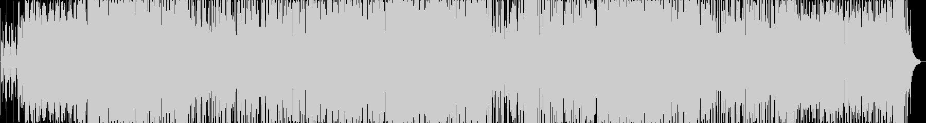 おしゃれ風味ジャズエレクトロの未再生の波形