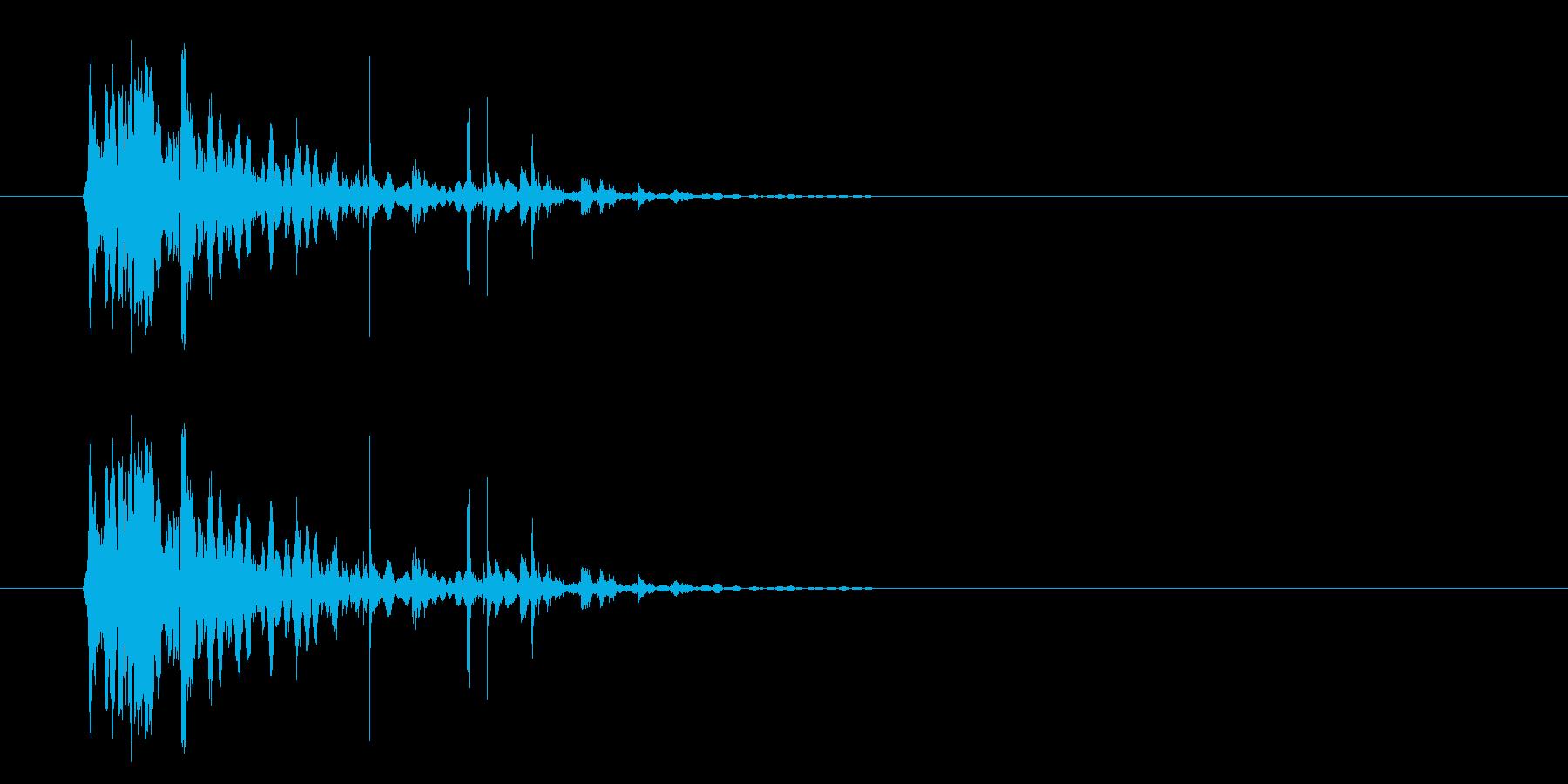 ハードインパクトとウッドスプリンタ...の再生済みの波形