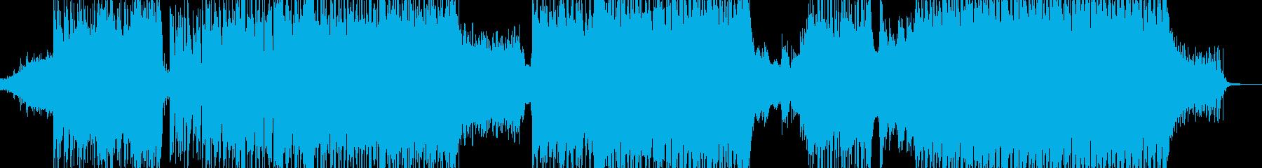 闇→光・爽快で感動的に展開 エレキ無A+の再生済みの波形