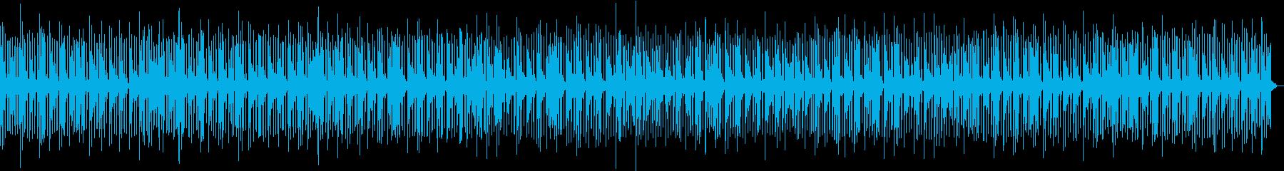 メロウで幻想的で落ち着いたエレピBGMの再生済みの波形