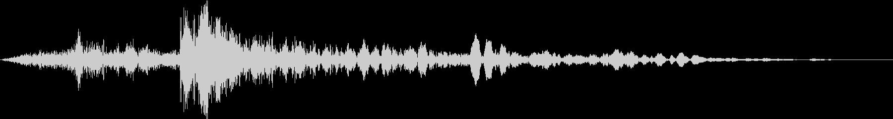 シートメタルインパクトメタルインパクトの未再生の波形