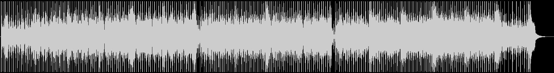 明るく幸せなファンキーなディスコの未再生の波形