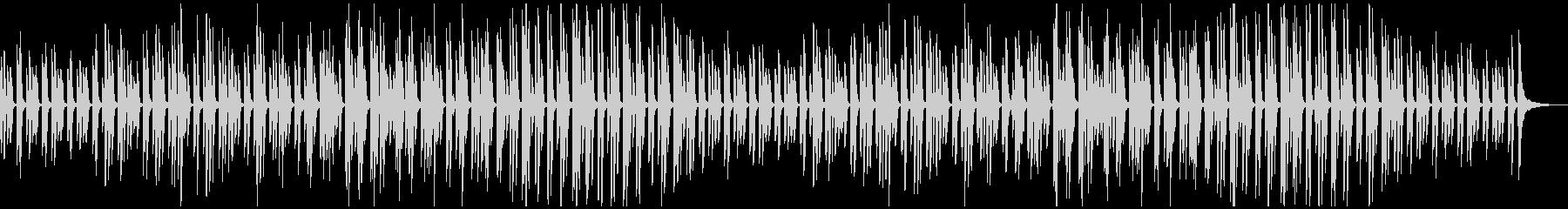 可愛くほんわか癒される日常のBGMの未再生の波形