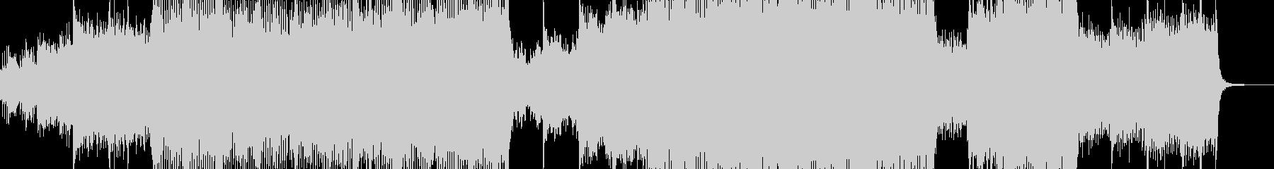 メルヘン・ファンタジックなテクノ L2の未再生の波形