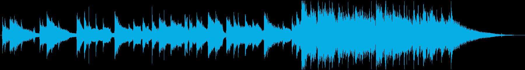 短縮版】爽やか、少し哀愁あるアコギBGMの再生済みの波形