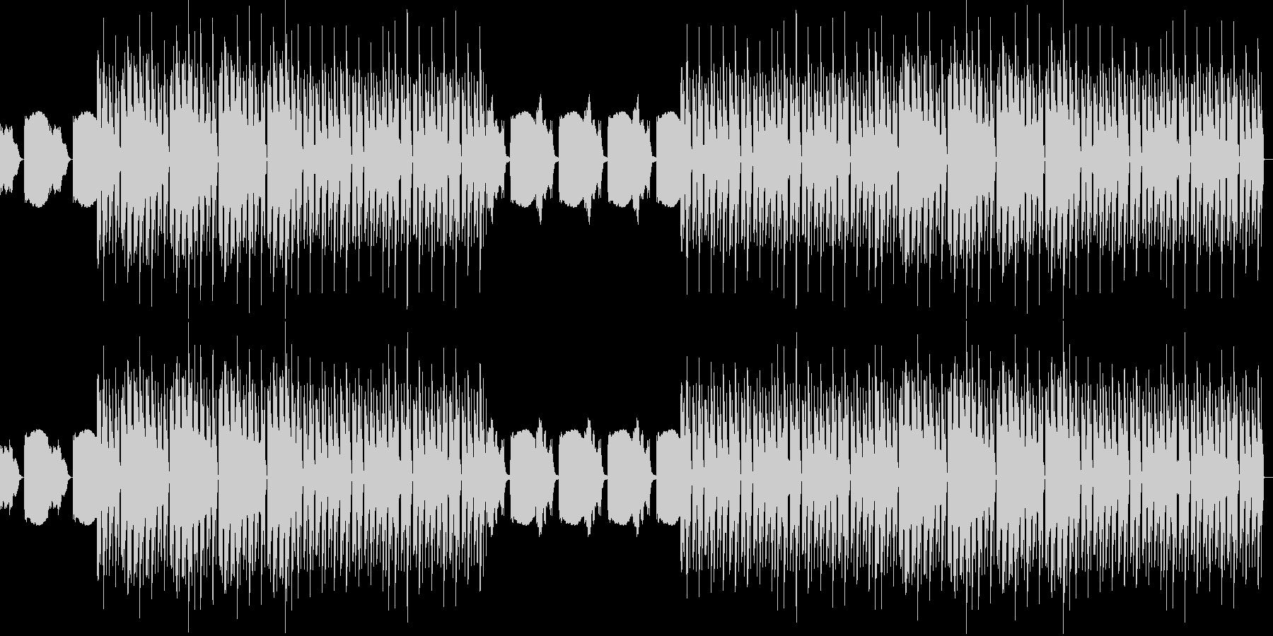 おしゃれ・低音重視・EDM・ベース5の未再生の波形