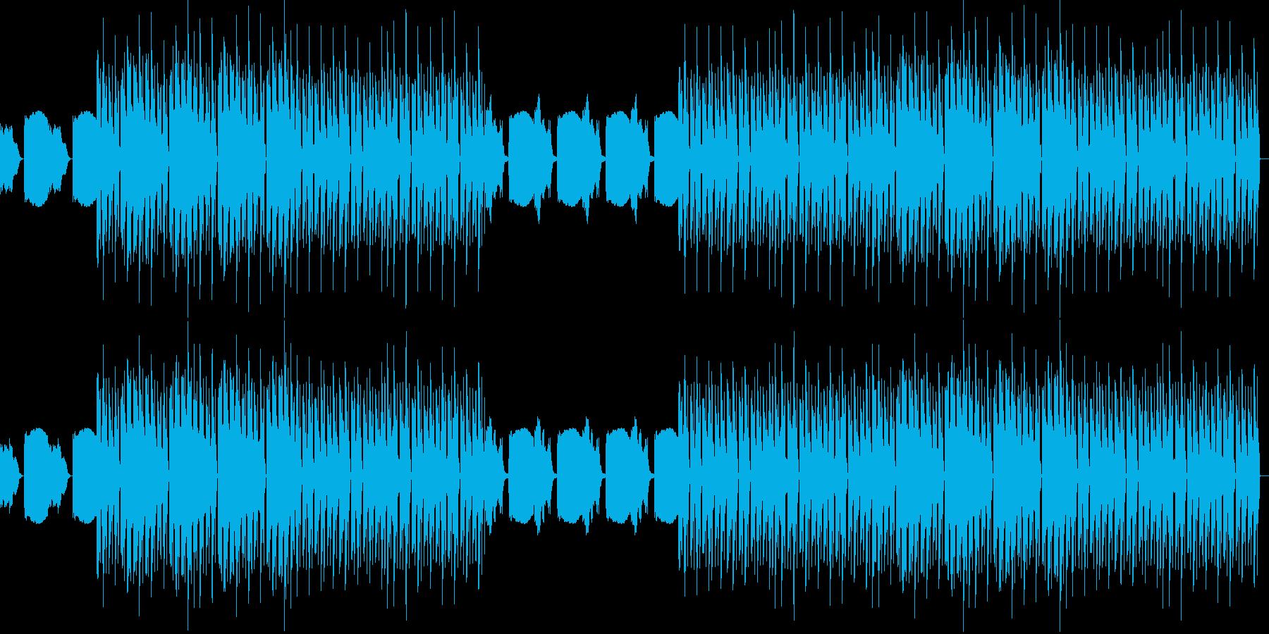 おしゃれ・低音重視・EDM・ベース5の再生済みの波形