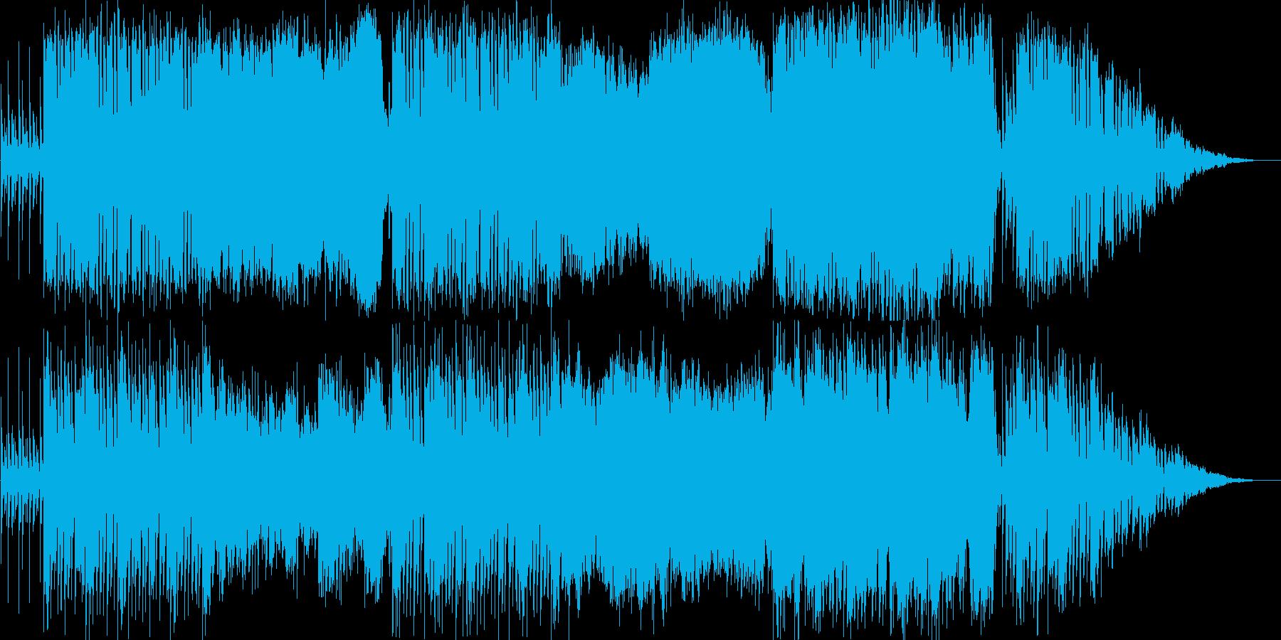 物悲しい街のBGM。民族音楽風。ループ有の再生済みの波形
