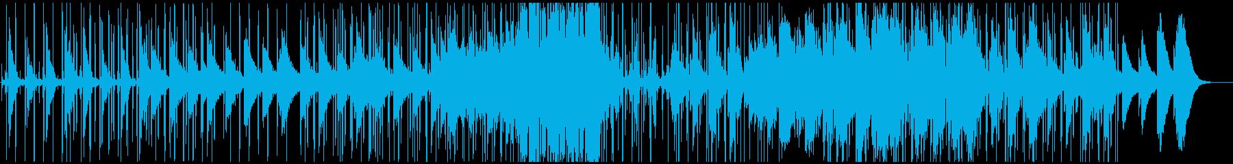 ピアノが幻想的なLo-Fi HipHopの再生済みの波形
