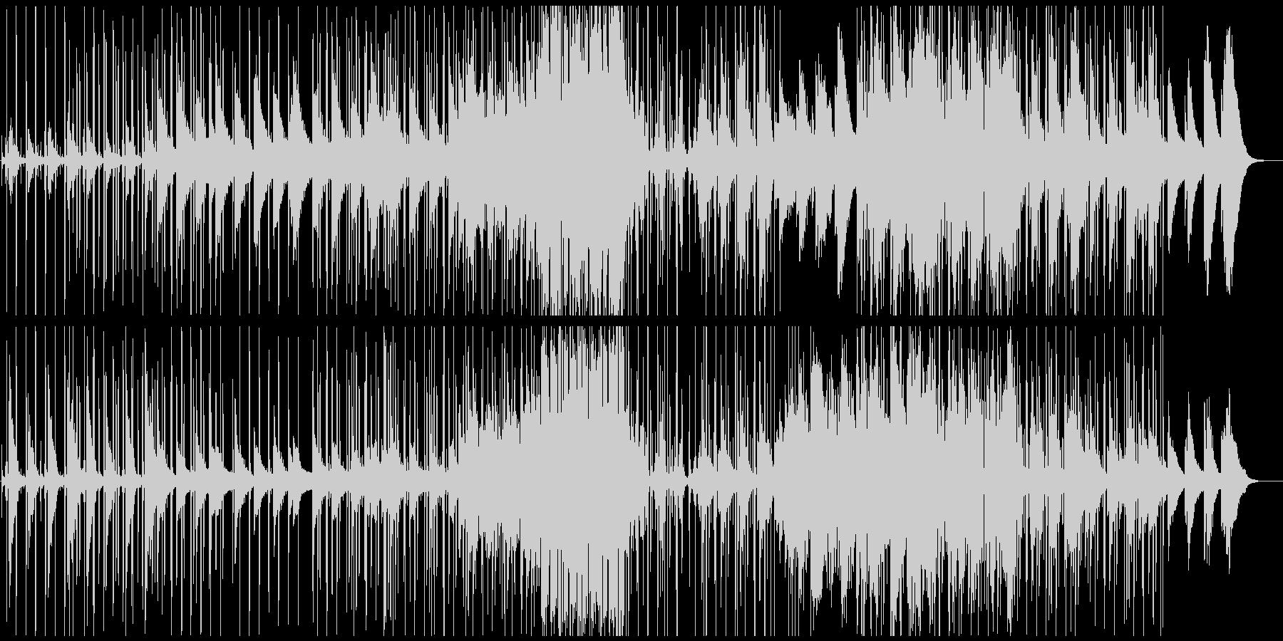 ピアノが幻想的なLo-Fi HipHopの未再生の波形