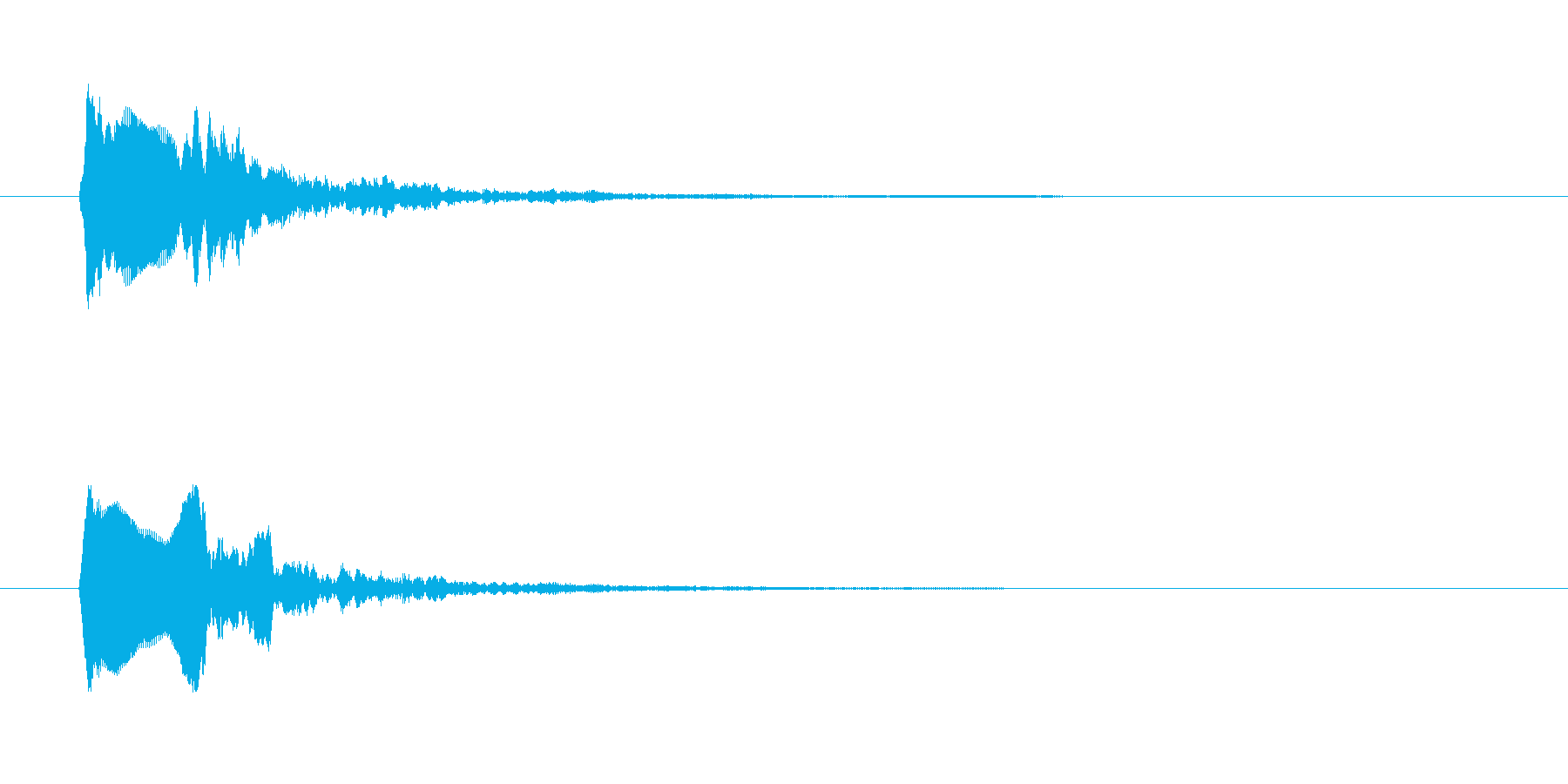 「ポワポワポワワーン」混乱 ミス スカの再生済みの波形