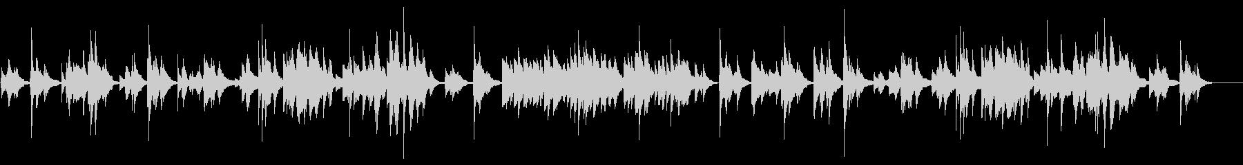 シューマン作曲「予言の鳥」ピアノソロの未再生の波形
