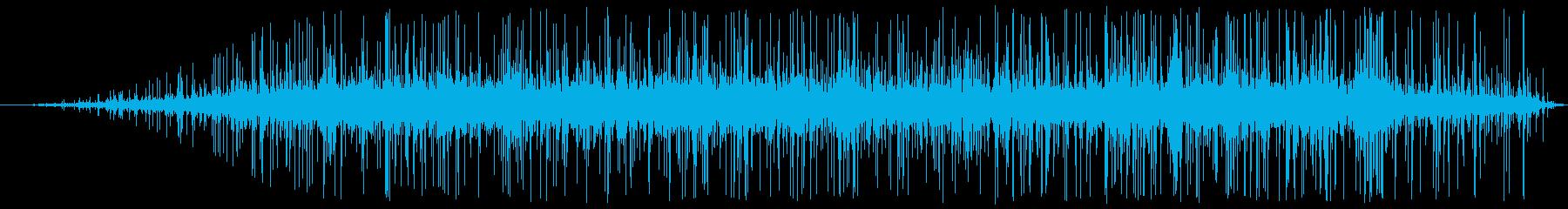 鍛冶屋:屋外:電気カーボン燃焼の再生済みの波形