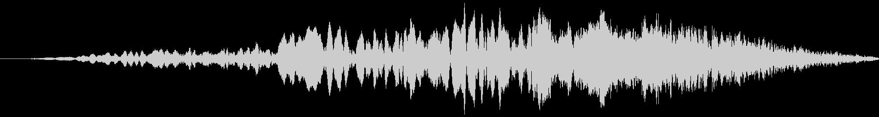 車 レース ブレーキ/タイヤスキール音7の未再生の波形