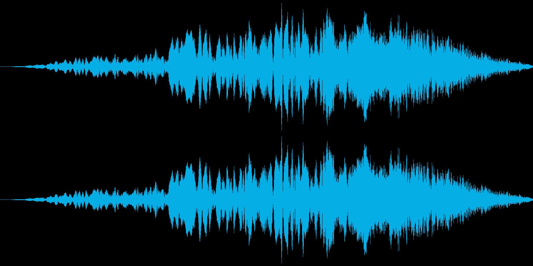 車 レース ブレーキ/タイヤスキール音7の再生済みの波形