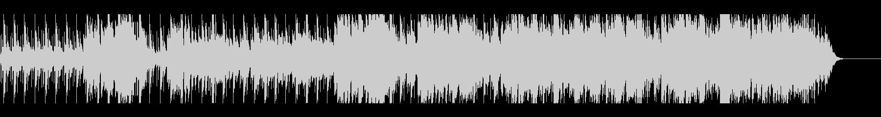 かわいいマリンバのワルツの未再生の波形