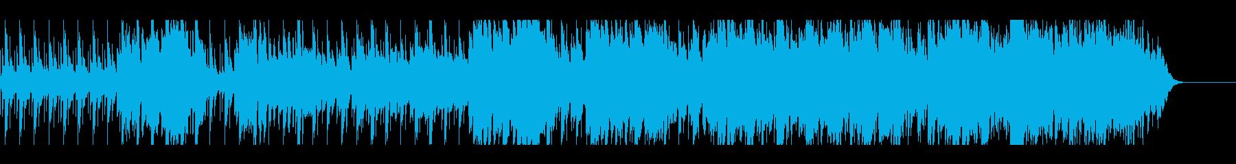 かわいいマリンバのワルツの再生済みの波形