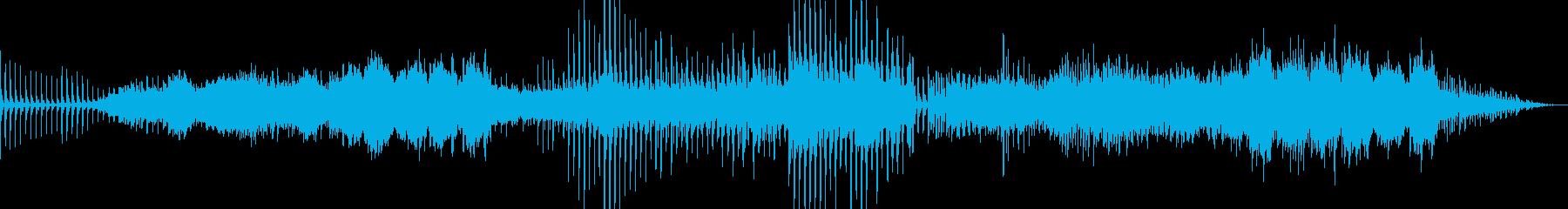 さらさらと流れる様な、美しいアンビエントの再生済みの波形