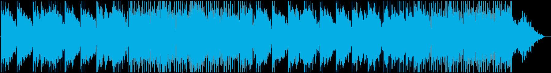 ケルト、アイリッシュ、ファンタジーBGMの再生済みの波形