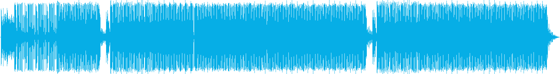 ファンキーなギターとベース。メロデ...の再生済みの波形