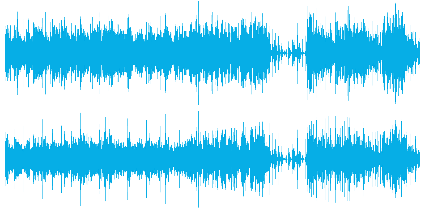 宇宙、惑星をイメージしました。後ろの音…の再生済みの波形