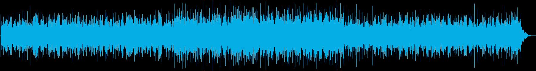 ほのぼのバンジョーのフォーク調BGMの再生済みの波形
