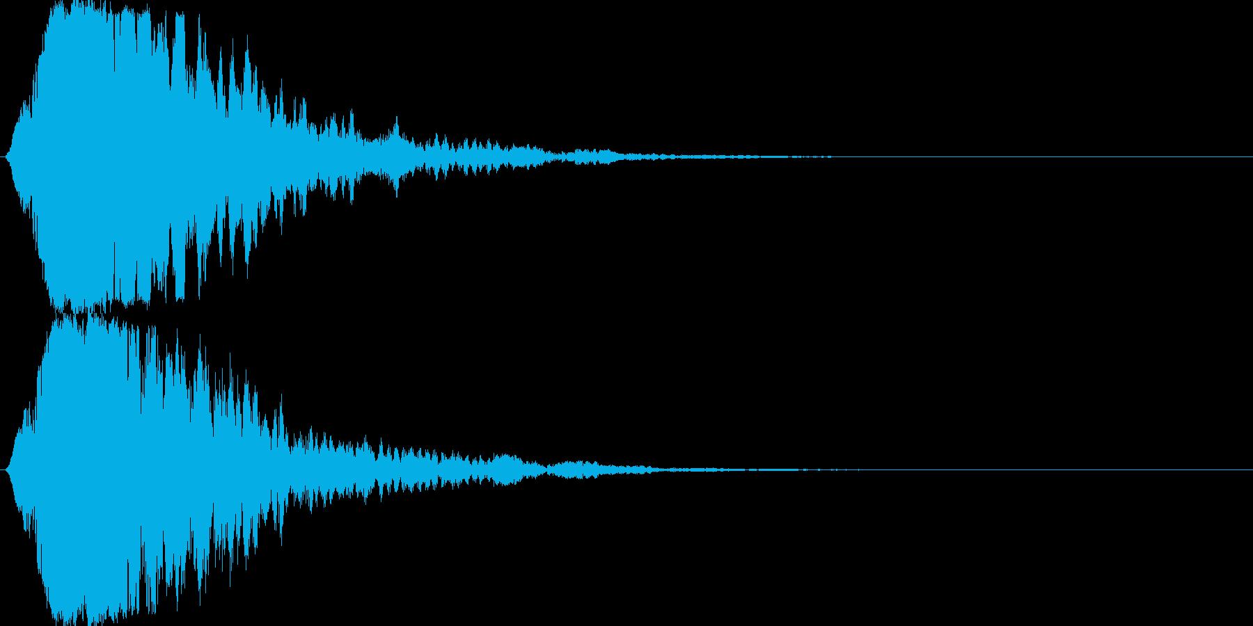 シャキーン キラーン☆目映い輝きに!04の再生済みの波形