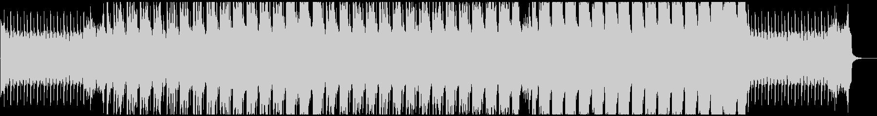 明るくキラキラしたハウス系BGMの未再生の波形