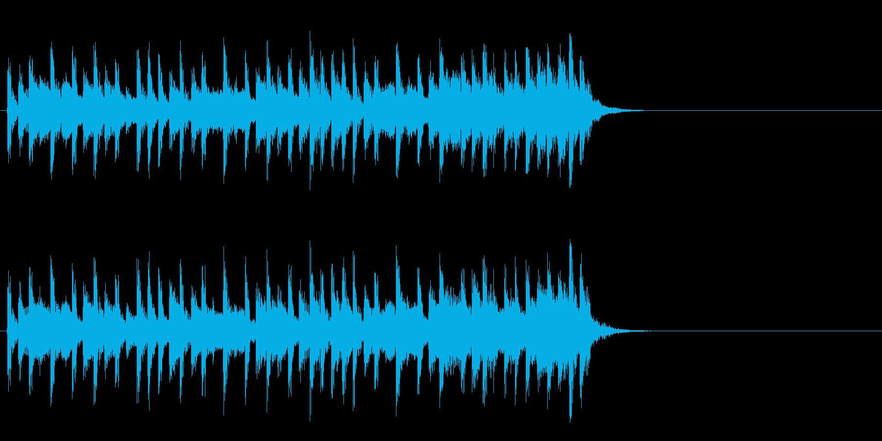 ほのぼのと優しいポップ(Aメロ)の再生済みの波形