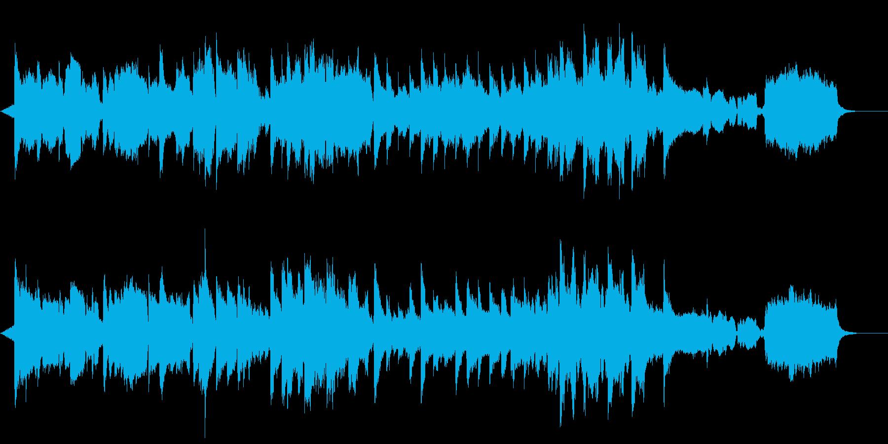 やわらかピアノの再生済みの波形